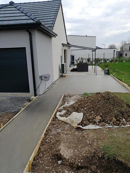 Aménagement extérieur à Amiens
