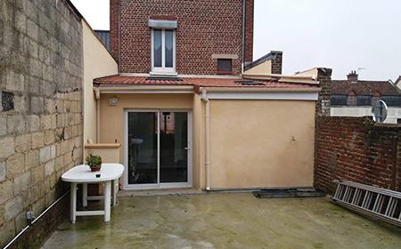 Construction d'extension de maison à Amiens
